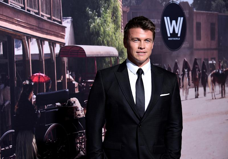 "Cast member Luke Hemsworth attends the premiere of the HBO series ""Westworld"" in Hollywood, California, U.S. September 28, 2016. REUTERS/Phil McCarten"