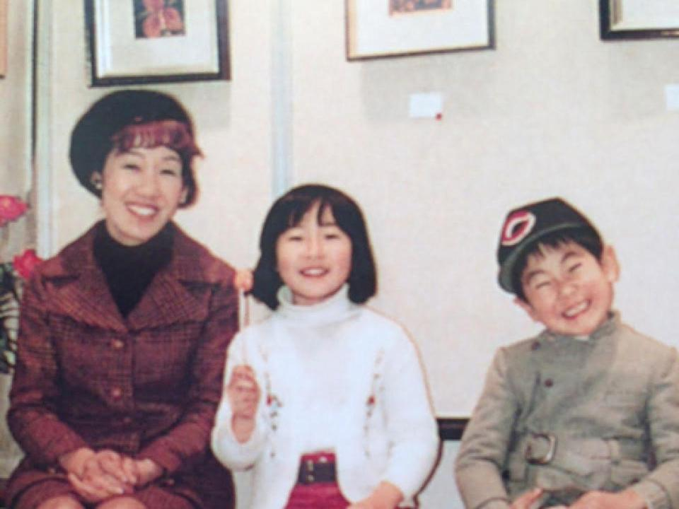 Toshiko Tanaka survived the atomic bombing of Hiroshima when she was just six years old. Toshiko went on to have two children, her daughter, Reiko, and son, Hideyuki.