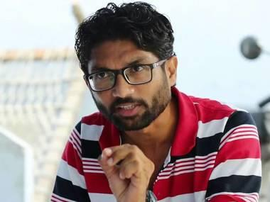 File image of Dalit leader Jignesh Mevani. News18.