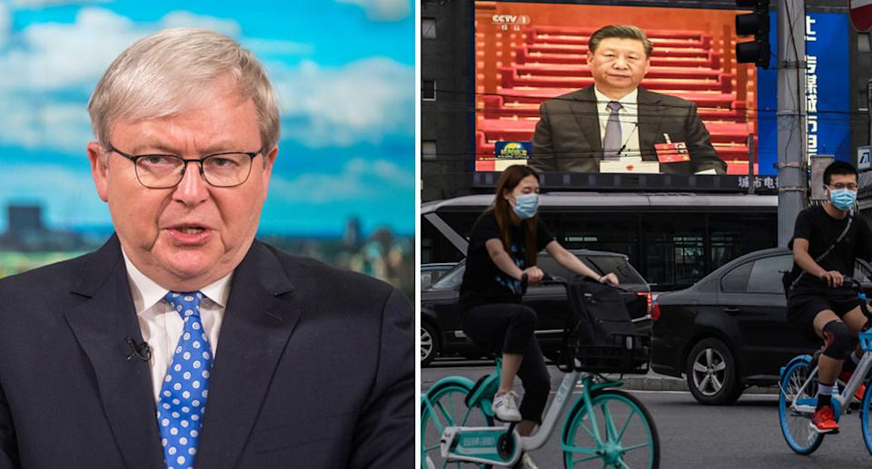 Mr Rudd has studied the Chinese leader in immense detail. Source: Getty