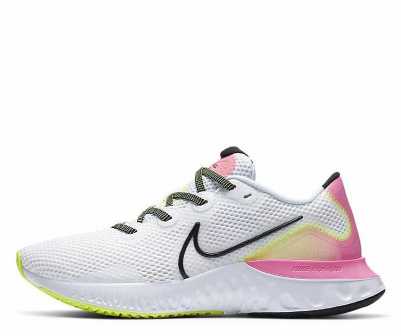 """<p><strong>Nike</strong></p><p>zappos.com</p><p><strong>$67.00</strong></p><p><a href=""""https://go.redirectingat.com?id=74968X1596630&url=https%3A%2F%2Fwww.zappos.com%2Fp%2Fnike-renew-run-anthracite-black-cool-grey%2Fproduct%2F9307245&sref=https%3A%2F%2Fwww.runnersworld.com%2Fgear%2Fg33624556%2Fzappos-vip-sale-running-shoes%2F"""" rel=""""nofollow noopener"""" target=""""_blank"""" data-ylk=""""slk:Shop Now"""" class=""""link rapid-noclick-resp"""">Shop Now</a></p><p><strong>Originally $90</strong></p><p><a class=""""link rapid-noclick-resp"""" href=""""https://go.redirectingat.com?id=74968X1596630&url=https%3A%2F%2Fwww.zappos.com%2Fp%2Fnike-renew-run-black-metallic-silver-white%2Fproduct%2F9307245%2Fcolor%2F20502&sref=https%3A%2F%2Fwww.runnersworld.com%2Fgear%2Fg33624556%2Fzappos-vip-sale-running-shoes%2F"""" rel=""""nofollow noopener"""" target=""""_blank"""" data-ylk=""""slk:Buy Men's"""">Buy Men's</a> <a class=""""link rapid-noclick-resp"""" href=""""https://go.redirectingat.com?id=74968X1596630&url=https%3A%2F%2Fwww.zappos.com%2Fp%2Fnike-renew-run-black-orange-pulse-white-pink%2Fproduct%2F9307246%2Fcolor%2F837391&sref=https%3A%2F%2Fwww.runnersworld.com%2Fgear%2Fg33624556%2Fzappos-vip-sale-running-shoes%2F"""" rel=""""nofollow noopener"""" target=""""_blank"""" data-ylk=""""slk:Buy Women's"""">Buy Women's</a></p><p>Already a steal at $100, the Nike Renew Run wowed our testers for its soft and smooth ride. The simple, no-fuss shoe has a propulsive feel that works for daily runs and uptempo efforts alike. </p>"""