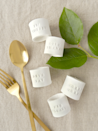 """<p>Pull your place settings together with these simple, yet gorgeous, DIY napkin rings. Feel free to get creative with stamping different phrases like """"Gobble gobble!"""" and """"Let's eat!""""</p><p><strong>Get the tutorial at <a href=""""http://www.sasandrose.com/2017/11/diy-stamped-clay-napkin-rings.html"""" rel=""""nofollow noopener"""" target=""""_blank"""" data-ylk=""""slk:Sas & Rose"""" class=""""link rapid-noclick-resp"""">Sas & Rose</a>.</strong></p><p><strong><a class=""""link rapid-noclick-resp"""" href=""""https://www.amazon.com/Crayola-Resealable-Less-Sticky-Alternative-Traditional/dp/B01KQDOTV6/?tag=syn-yahoo-20&ascsubtag=%5Bartid%7C10050.g.2063%5Bsrc%7Cyahoo-us"""" rel=""""nofollow noopener"""" target=""""_blank"""" data-ylk=""""slk:SHOP CLAY"""">SHOP CLAY</a><br></strong></p>"""
