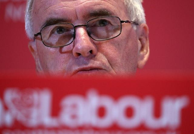 Shadow chancellor John McDonnell has said private schools should be treated like any other business (Andrew Milligan/PA)