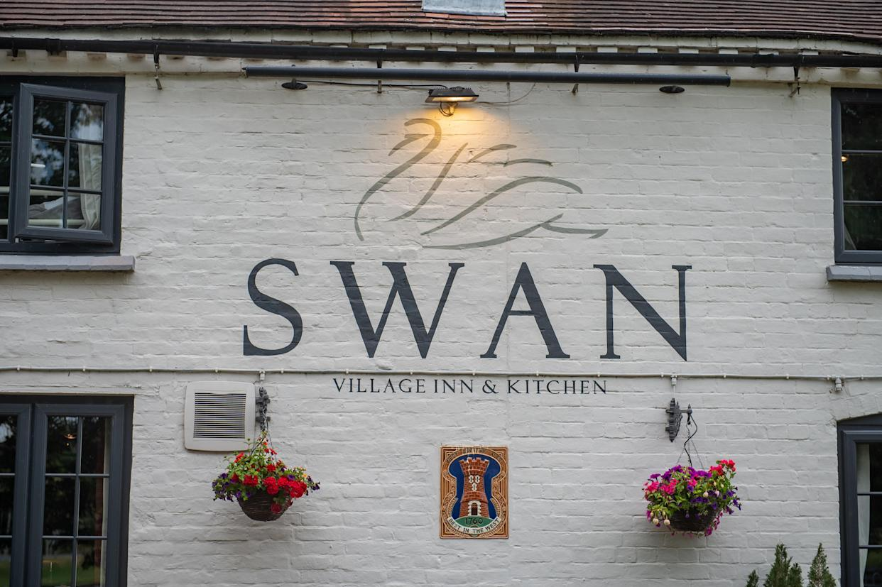 The pub decided to issue fines after a minority of people failed to fulfil their reservations. (SWNS)