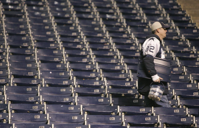 The NFL is reportedly considering reducing the number of preseason games this year. (REUTERS/Jessica Rinaldi)