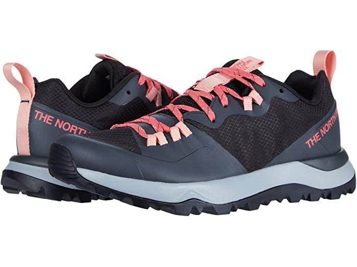 "<br> <br> <strong>The North Face</strong> Activist Lite Sneaker, $, available at <a href=""https://go.skimresources.com/?id=30283X879131&url=https%3A%2F%2Fwww.zappos.com%2Fp%2Fthe-north-face-activist-lite-tnf-black-calypso-coral%2Fproduct%2F9340975%2Fcolor%2F850727"" rel=""nofollow noopener"" target=""_blank"" data-ylk=""slk:Zappos"" class=""link rapid-noclick-resp"">Zappos</a>"