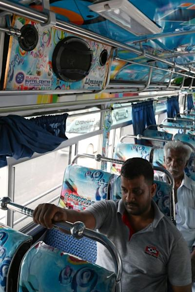 Sri Lanka's long-distance buses are notorious for playing loud music or videos