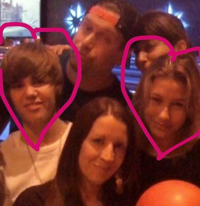 """<p>Ahead of the 2019 wedding, Justin shared a photo of one of his first meetings with Hailey, along with her parents Stephen and Kennya Baldwin, believed to have been taken in 2009.</p><p><a href=""""https://www.instagram.com/p/B3B6APHn_v3/"""" rel=""""nofollow noopener"""" target=""""_blank"""" data-ylk=""""slk:See the original post on Instagram"""" class=""""link rapid-noclick-resp"""">See the original post on Instagram</a></p>"""