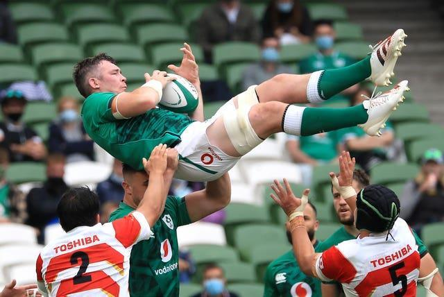 Peter O'Mahony has been released from Ireland's squad after starting the win over Japan