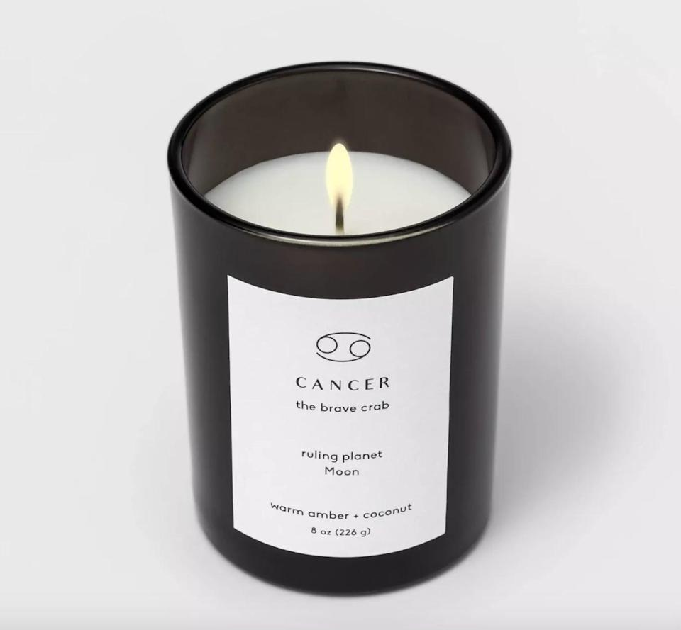 <p>The <span>Project 62 Glass Jar Zodiac Candles Black</span> ($8) is a must-have for all astrology-lovers.</p>