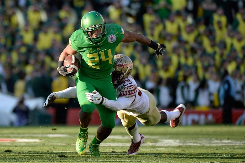 Former Oregon Duck Thomas Tyner makes comeback at Oregon State