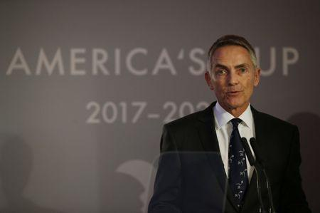 FILE PHOTO - Britain Sailing - America's Cup Media Event - House of Garrard, Mayfair, London - 25/1/17 CEO of the Land Rover BAR team Martin Whitmarsh during a press conference Action Images via Reuters / Andrew Couldridge