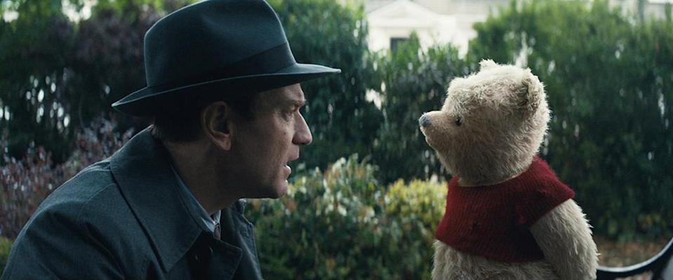 """<p>Hollywood hopes you still like Pooh. While 2017's <em>Goodbye Christopher Robin</em> starring Domhnall Gleeson came and went without a trace, Disney has its own biopic of the Winnie the Pooh creator on the way (this time played by Ewan McGregor), and maybe the story just needs a little Mouse House magic to find an audience. 