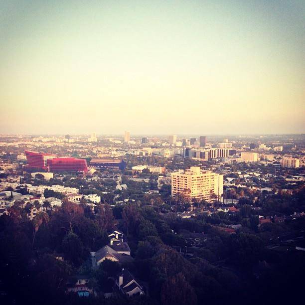 """Loving this view of LA @ the Soho House for @FoxTV party."""
