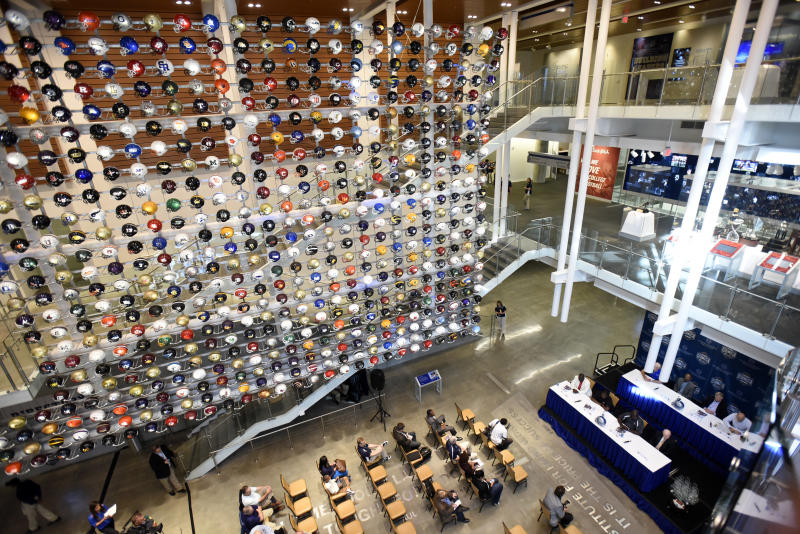 College Football Hall of Fame damaged in Atlanta protests