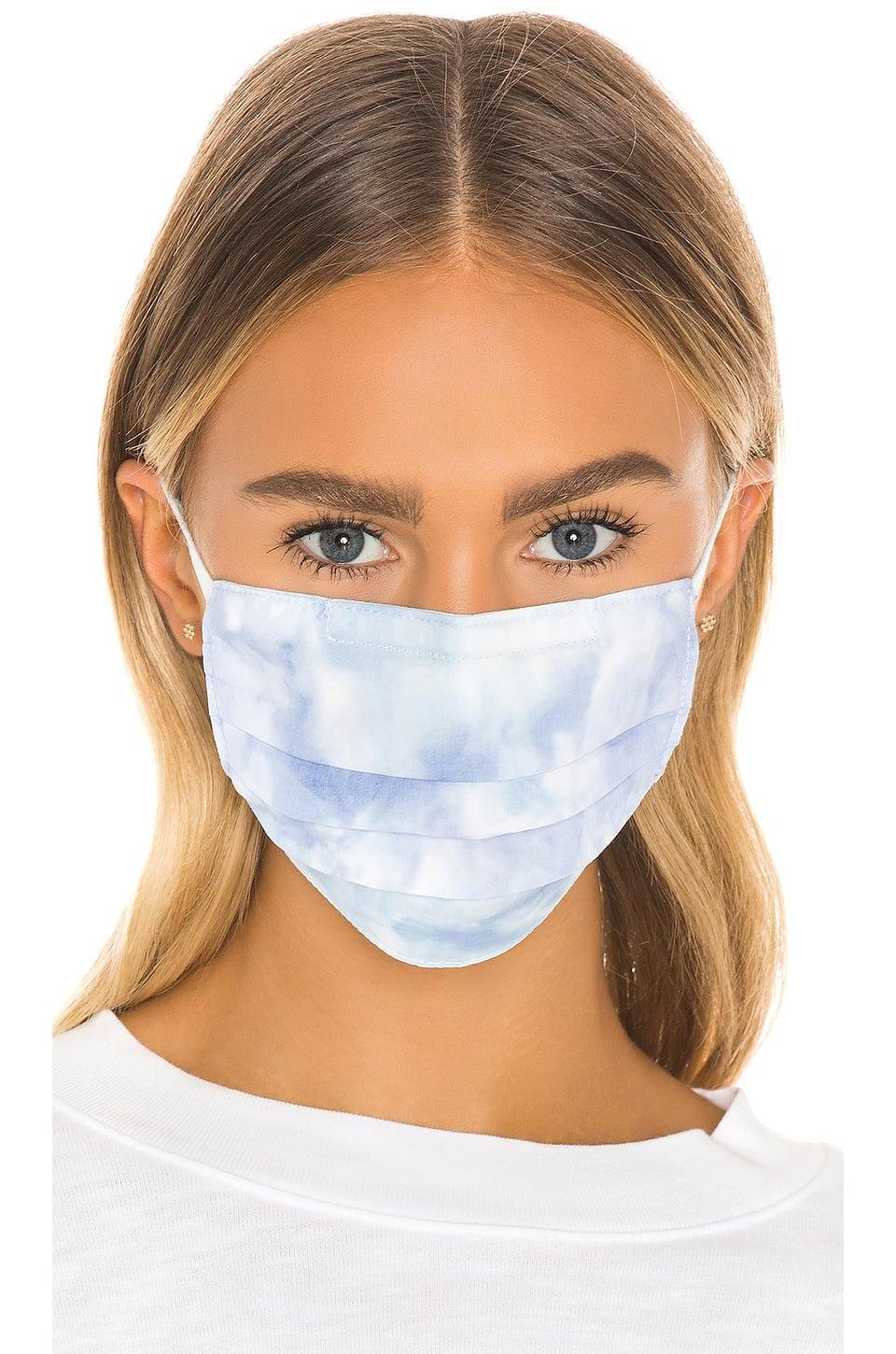 <p>This dreamy <span>Cotton Citizen Face Mask</span> ($28) is double layered with cotton, ensuring you have added barriers of protection. (Available for preorder.)</p>