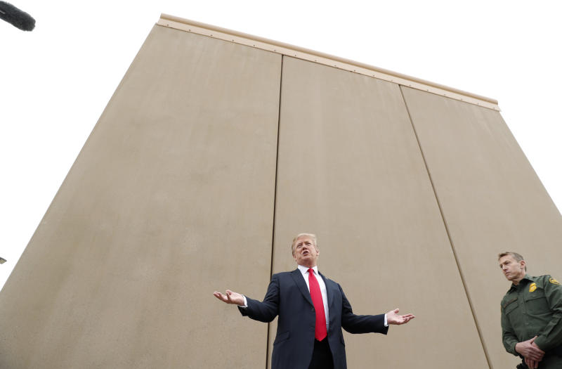 The Border Wall Fight Is Coming Back