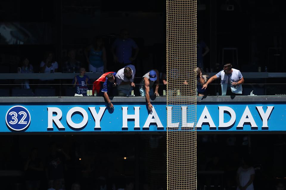 Roy Halladay has been acknowledge in Toronto, but now Cooperstown has come calling. (Tom Szczerbowski/Getty Images)