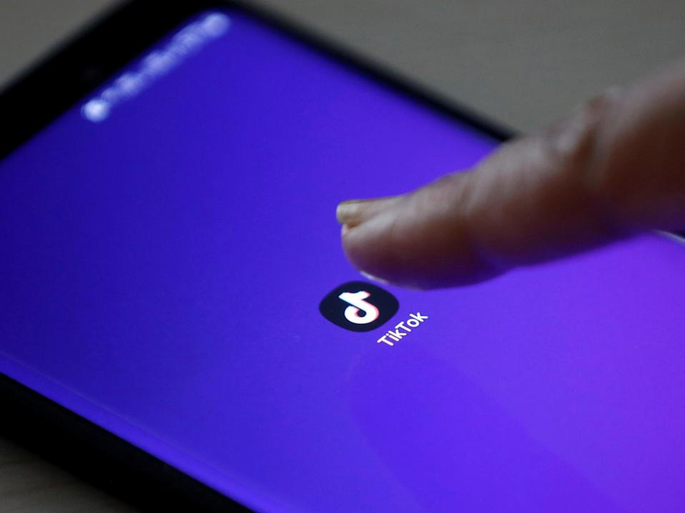A security weakness in the popular video-sharing app TikTok appears to let hackers hijack a user's feed (Reuters)