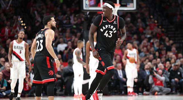 Pascal Siakam and Fred VanVleet have stepped up in a big way after the major injuries in the Toronto Raptors rotation.
