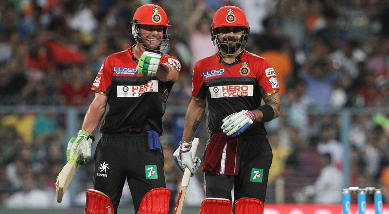 Virat Kohli and AB de Villiers is a frightening sight for bowlers