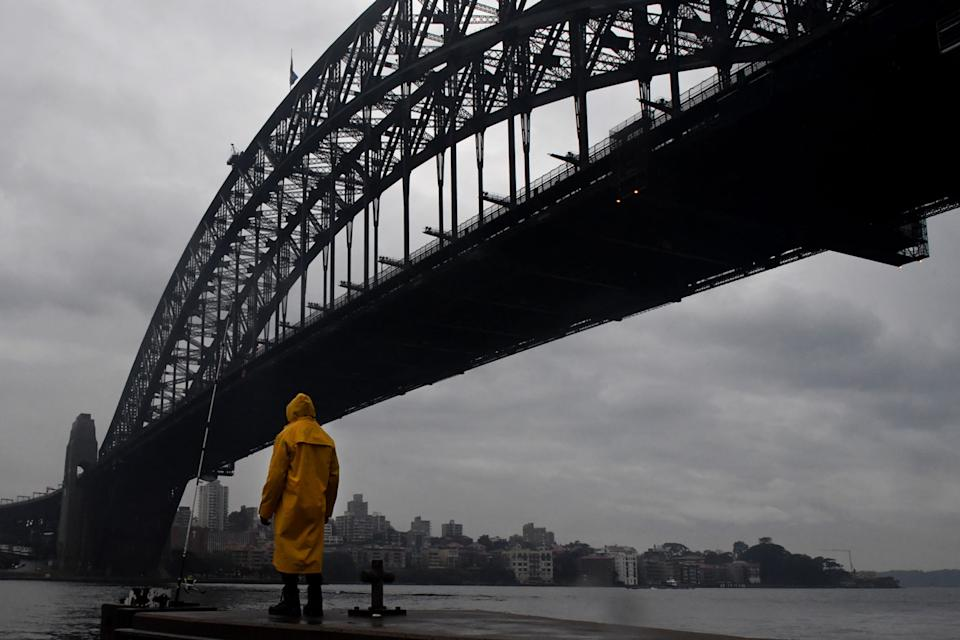 Sydney weather set to cool.