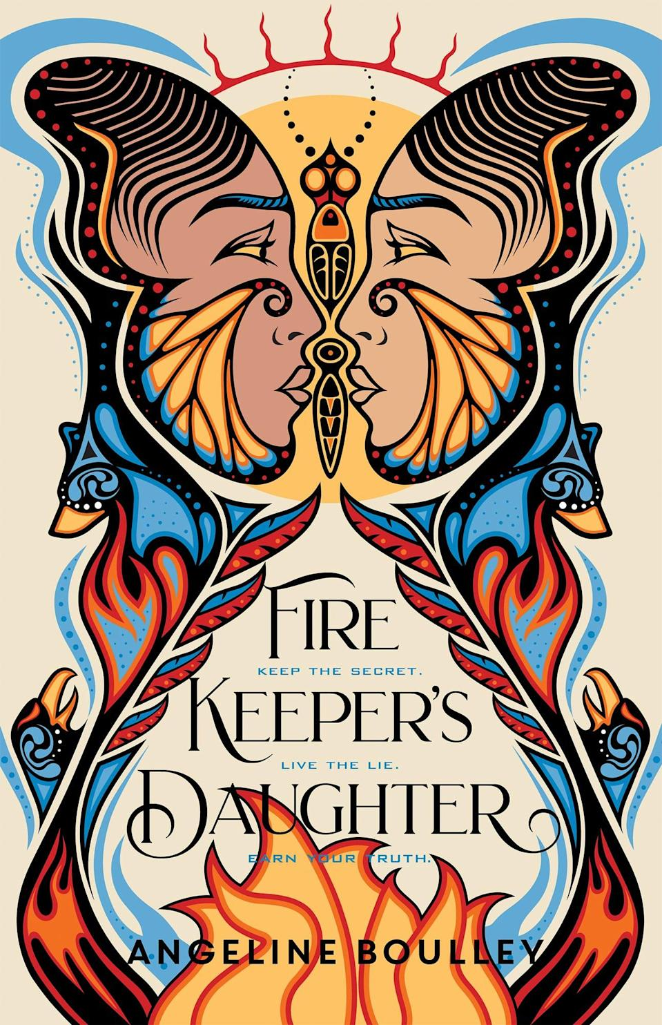 <p>Angeline Boulley's debut novel, <span><strong>Fire Keeper's Daughter</strong></span>, follows an 18-year-old Native girl, Daunis Fontaine, who is drawn into an undercover investigation after witnessing a shocking act of violence. Now Daunis, who has never felt at home within the tribal community or outside of it, is determined to use her knowledge of chemistry and Ojibwe traditional medicine to solve the case on her own.</p> <p><em>Out March 2</em></p>
