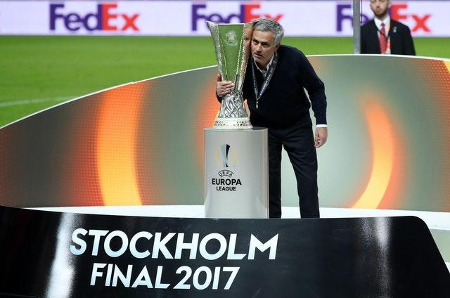 Jose Mourinho delivered the Europa League to Manchester United in 2017