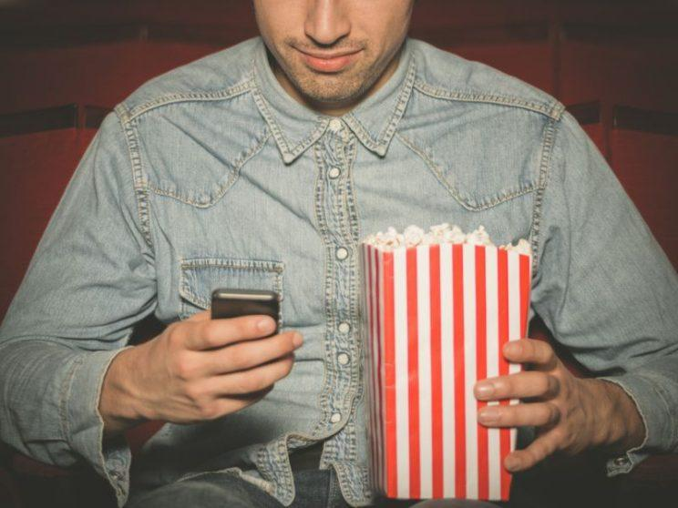Theatre mode?... movie fans not happy about rumoured iOS update - Credit: Getty