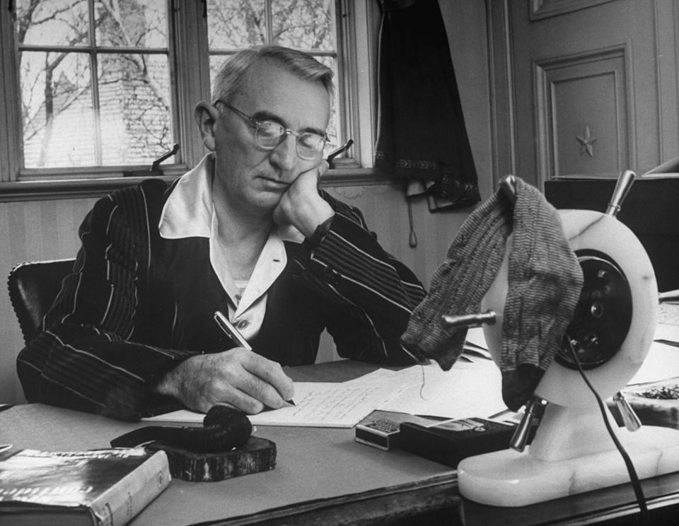 """Dale Carnegie, pictured here, wrote """"How to Win Friends and Influence People."""" (Getty Images)"""