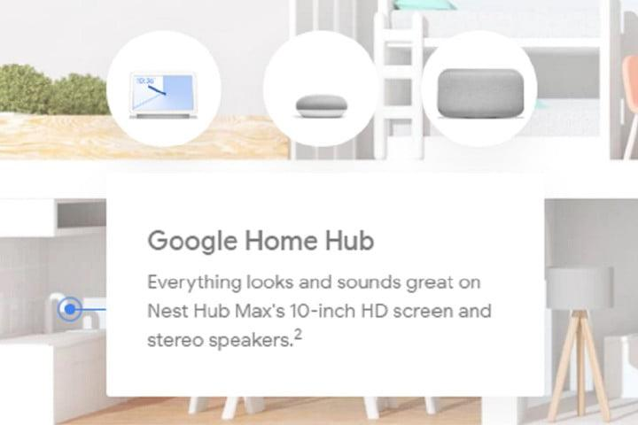 google leaks nest hub max 1