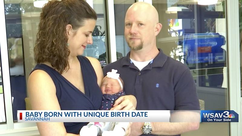 What Are the Chances? Baby Girl Born at 9:19 P.M. on 9/19/19, Measuring 19 Inches Long