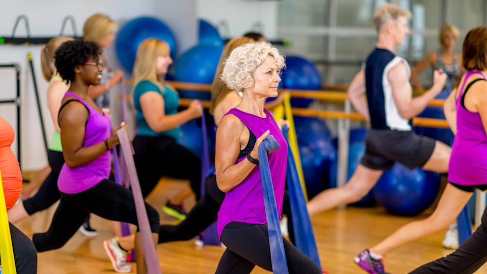 <p>In addition to discounts, some gyms and fitness centers offer classes that are specific to senior citizens, which you can take advantage of is you're enrolled in Medicare's SilverSneakers program. One gym, 24 Hour Fitness, offers Active Aging Classes, a program designed to help seniors maintain cardiovascular health.</p>