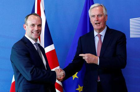 Raab wants to 'heat up' Brexit talks