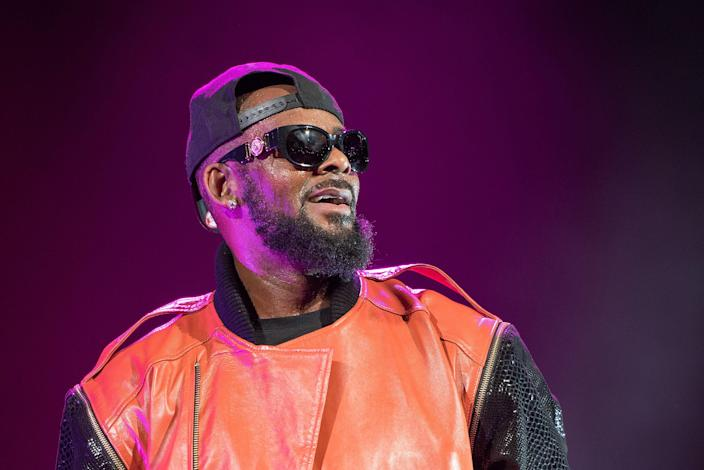 R. Kelly performs in concert at Barclays Center on Sep. 25, 2015 in the Brooklyn borough of New York City.