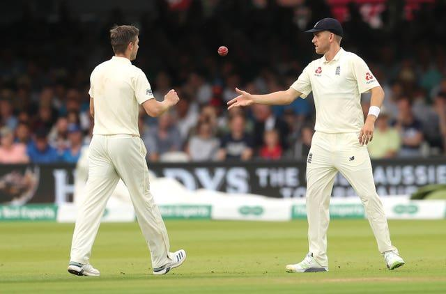 Chris Woakes (left) and Olly Stone (right) will vie for the last bowling place on Saturday.