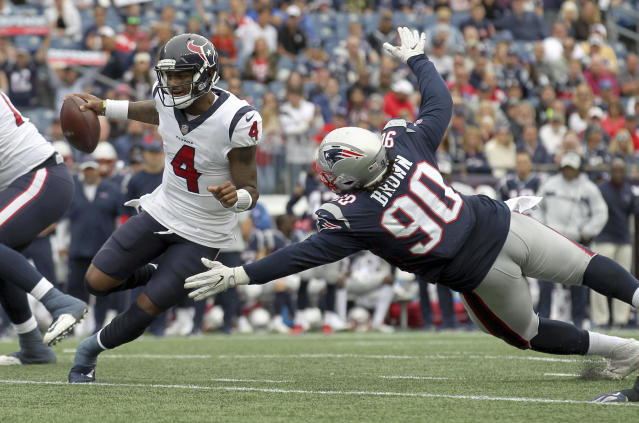 Houston Texans quarterback Deshaun Watson will look to rebound against a division rival in Week 2. (AP Photo/Stew Milne)