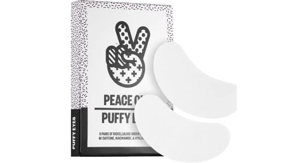 Peace Out Puffy Under-Eye Patches - Sephora, $33