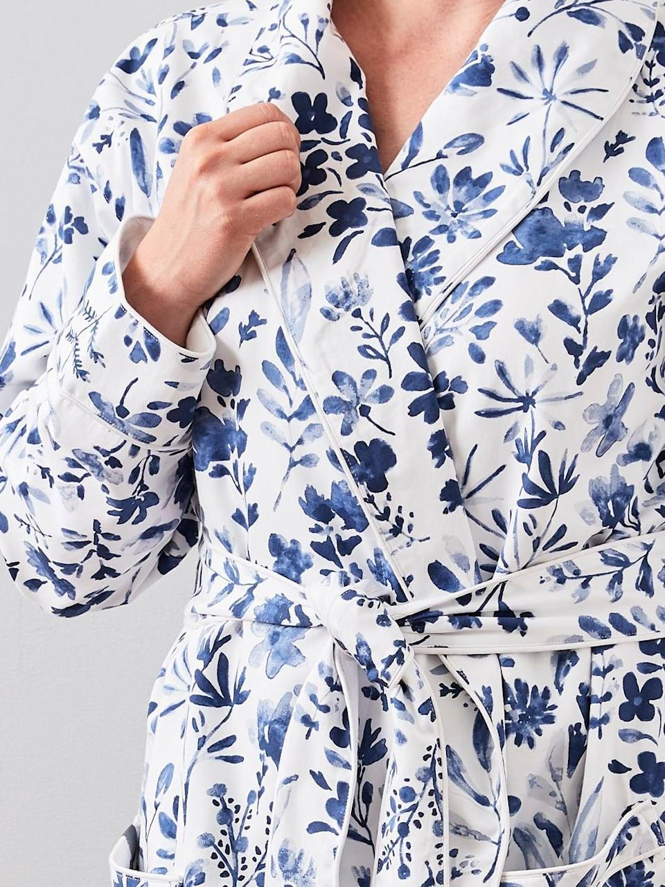 "<h2><a href=""https://www.bollandbranch.com/products/womens-spa-robe"" rel=""nofollow noopener"" target=""_blank"" data-ylk=""slk:Boll & Branch Women's Spa Robe"" class=""link rapid-noclick-resp"">Boll & Branch Women's Spa Robe</a></h2> <br>This limited-edition robe is not only beautiful to look at and super-soft to touch but it's also crafted from 100% organic cotton materials through sustainable and ethical production methods. <br><br><br><br><strong>Boll & Branch</strong> Women's Spa Robe, $, available at <a href=""https://go.skimresources.com/?id=30283X879131&url=https%3A%2F%2Fwww.bollandbranch.com%2Fproducts%2Fwomens-spa-robe"" rel=""nofollow noopener"" target=""_blank"" data-ylk=""slk:Boll & Branch"" class=""link rapid-noclick-resp"">Boll & Branch</a><br><br><br>"