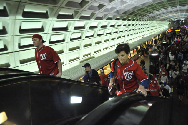 It won't just be Nationals fans taking the D.C. Metro to the MLB All-Star game. (Getty Images)