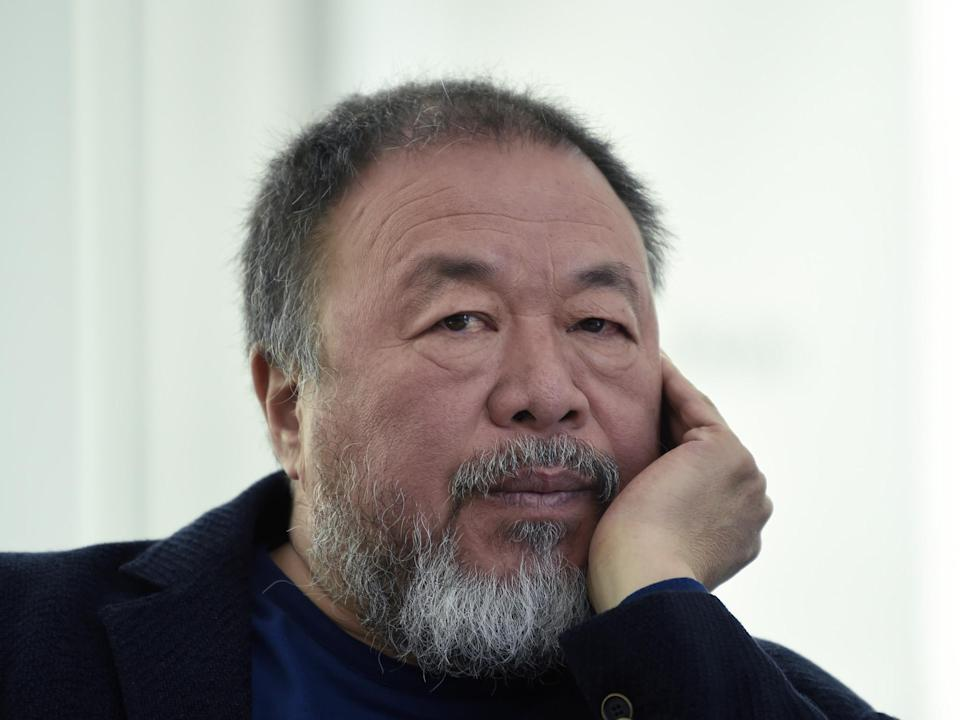 'Sharing food is the most fundamental human gesture': Ai Weiwei is supporting The Felix Project (AFP/Getty)