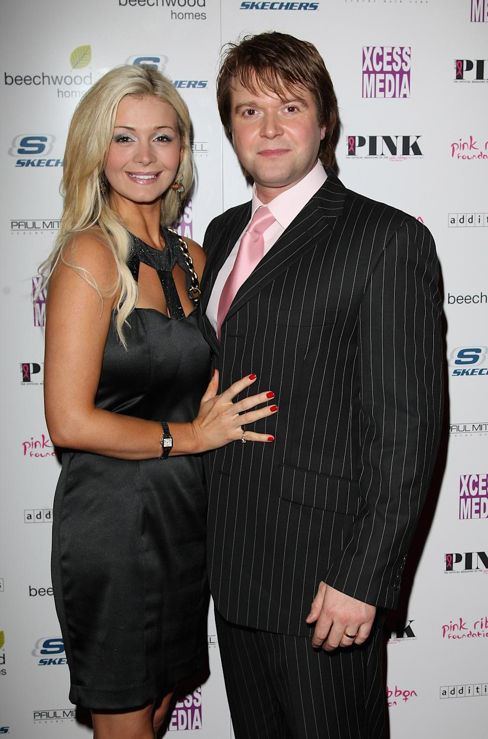 Darren Day with his then-wife Stephanie attend the In The Pink Magazine Launch Party held at the CC Club on October 3, 2007 in London.  (Photo byJon Furniss/WireImage).  (Photo by Jon Furniss/WireImage)