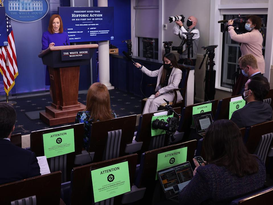 White House press hoom