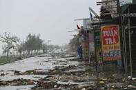 'Severe' Typhoon Doksuri pounds central Vietnam