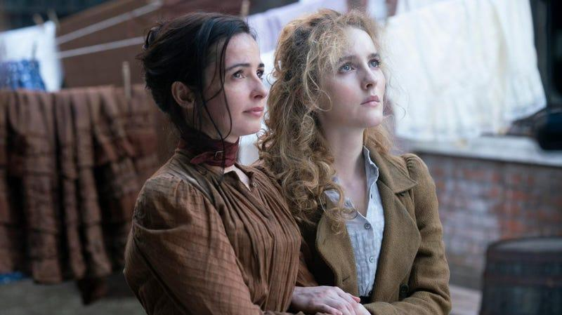 Ann Skelly and Laura Donnelly in The Nevers
