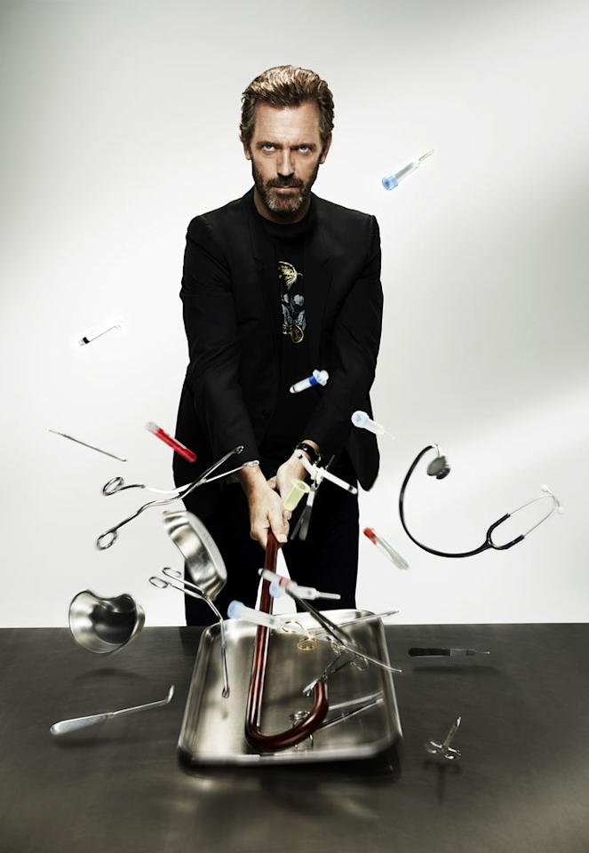 """Hugh Laurie stars as Dr. Gregory House in """"House."""""""