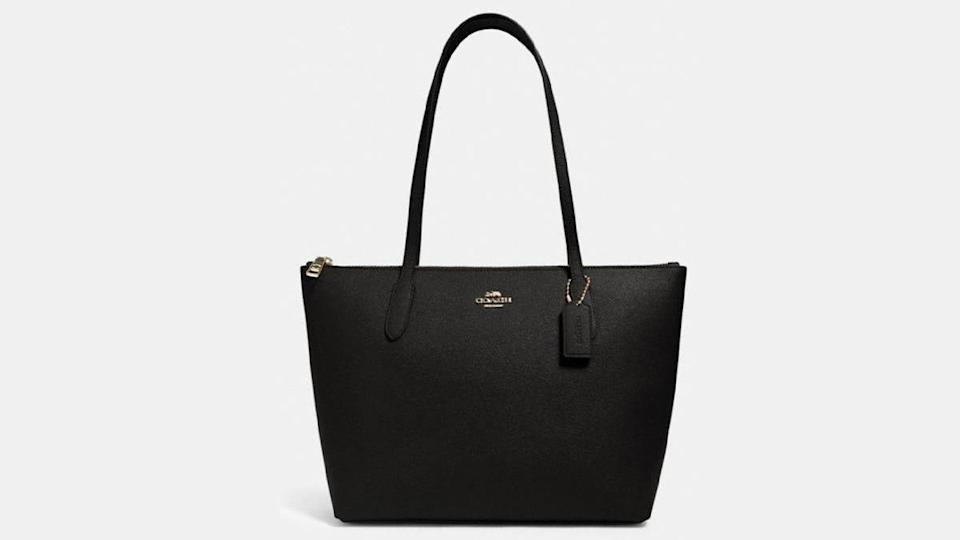 Shoppers adore this classic bag from Coach Outlet.