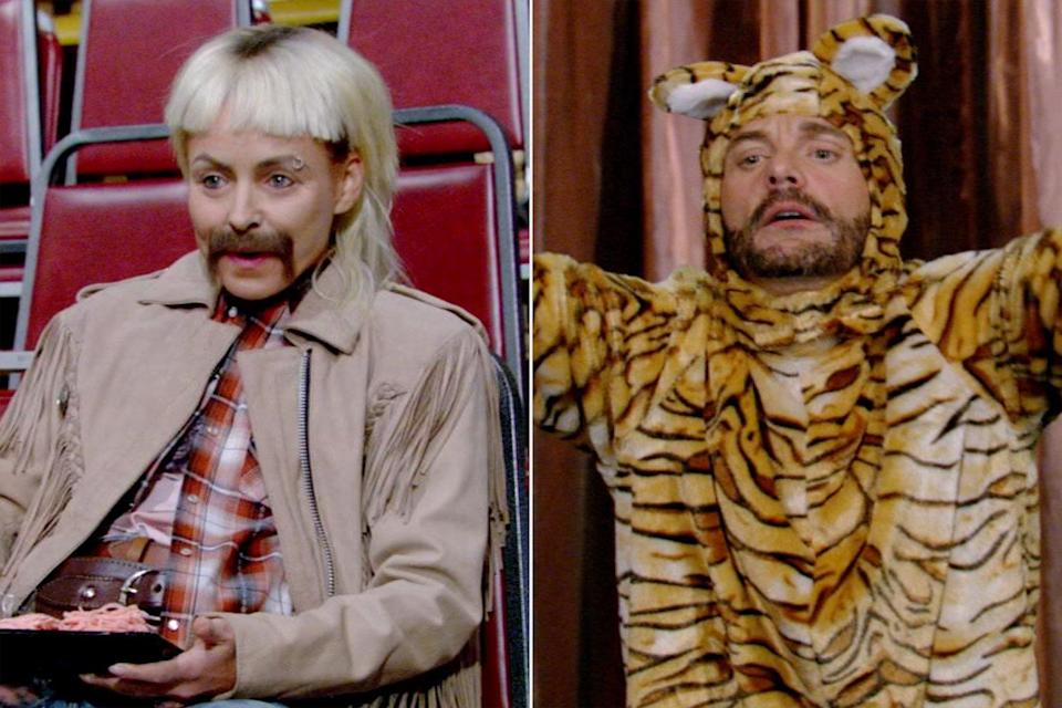 Kelly Ripa Channels Joe Exotic for Live with Kelly and Ryan Halloween Extravaganza