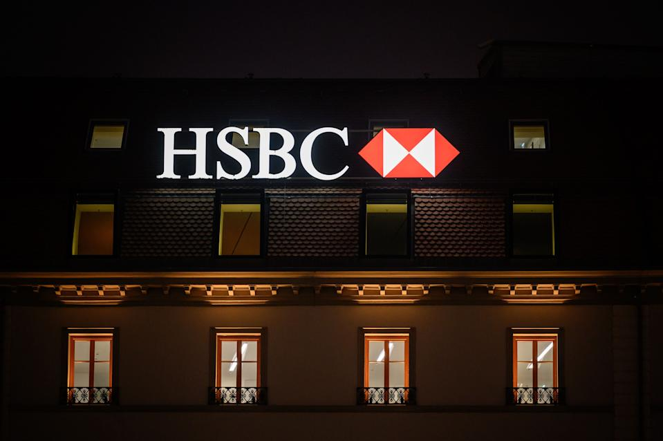 A HSBC branch in Geneva, Switzerland. Photo: Fabrice Coffrini/AFP via Getty Images