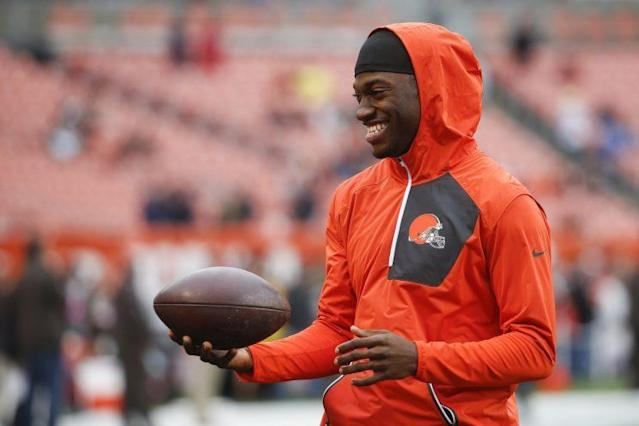 Robert Griffin returned to practice Wednesday for the Browns (AP)